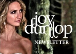 Joy Dunlop Newsletter