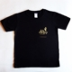 Joy Dunlop Black Slim Fit T-shirt