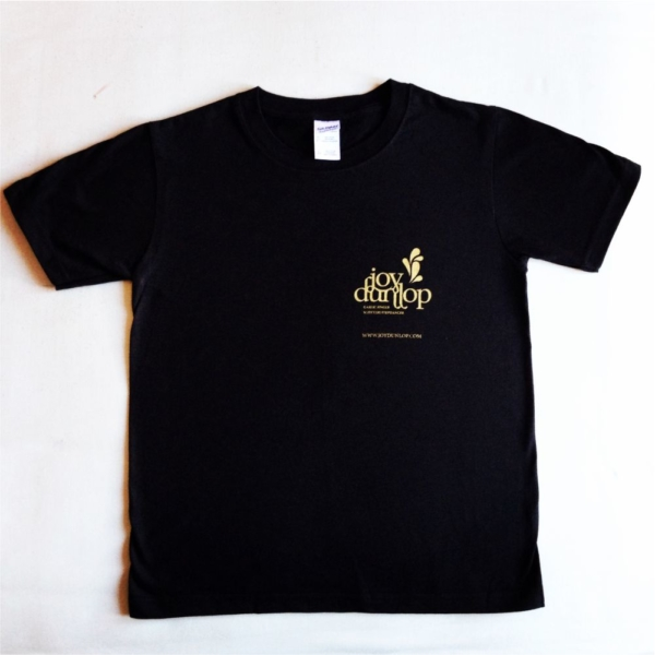 Joy Dunlop Black T-shirt